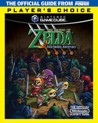 9781598120158: Official Nintendo The Legend of Zelda: Four Swords Adventures Player's Choice Player's Guide