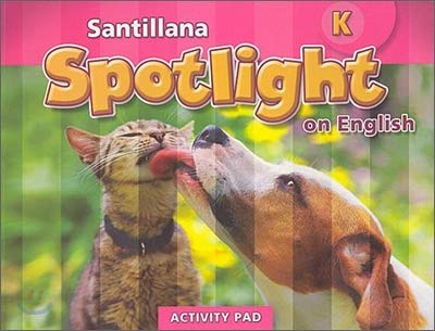 Santillana Spotlight on English K, Activity Pad