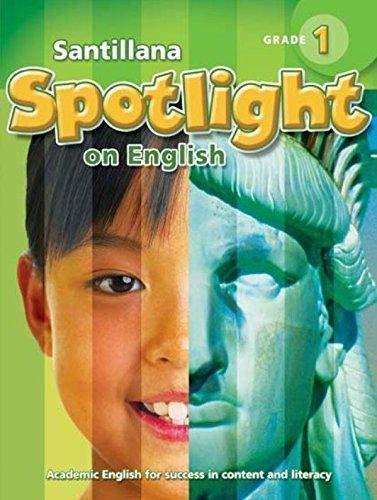 9781598207293: Santillana Spotlight on English 1 / Student Edition