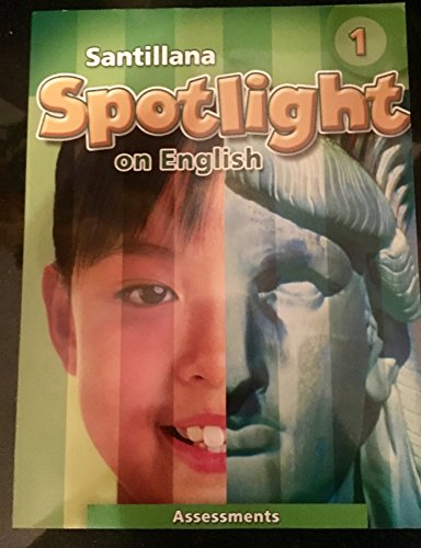 9781598209259: Santillana Spotlight on English Level K: Academics English for Success in Content and Literacy Assessments
