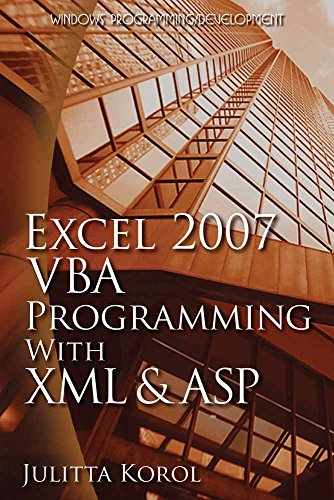 9781598220438: Excel 2007 VBA Programming with XML and ASP (Wordware Applications Library)