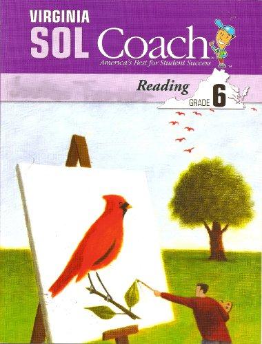 9781598230901: Virginia SOL Coach, Reading, Grade 6