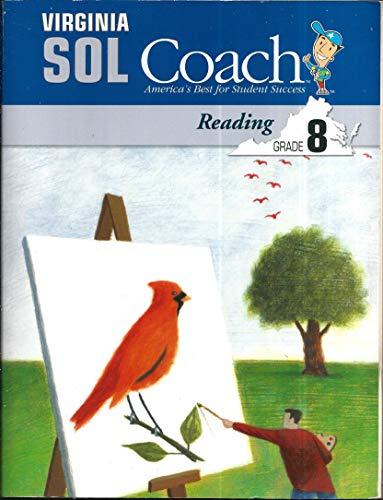 9781598230925: Virginia SOL Coach Reading Grade 8