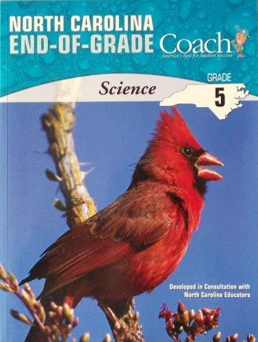 9781598231953: North Carolina End-of-grade Coach Science for Grade 5