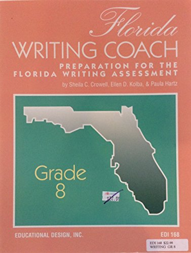 9781598232394: Florida FCAT Writing Coach Grade 8 (Coach- America's Best for Student Success)