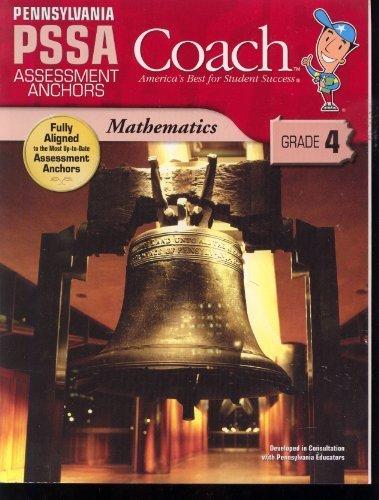 9781598235777: Coach Pennsylvania PSSA Assessment Anchors Mathmatics (grade 4)