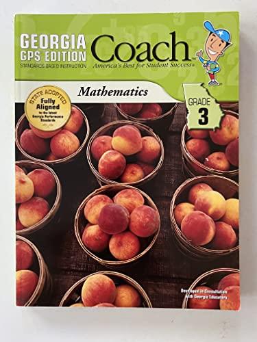9781598236637: Georgia GPS Edition Coach Standards-Based Instruction, Mathematics, Grade 3