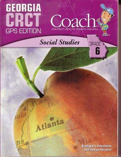 9781598236729: Social Studies Grade 6 Georgia CRCT Coach