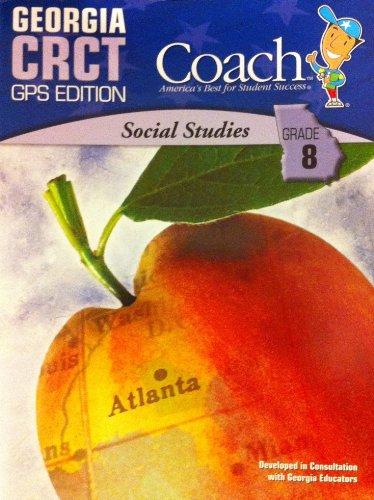 9781598236743: Georgia CRCT Coach (Social Studies, Grade 8)