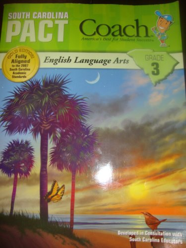 9781598237870: South Carolina Pact Coach - ENGLISH LANGUAGE ARTS - Grade 3