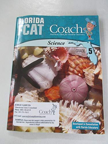 9781598238754: Florida FCAT Coach: Science Grade 5
