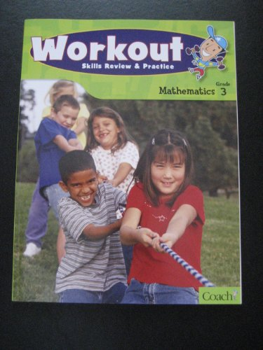 9781598239508: Workout Skills Review & Practice Mathematics Grade 3 (Mathematics Grade 3)