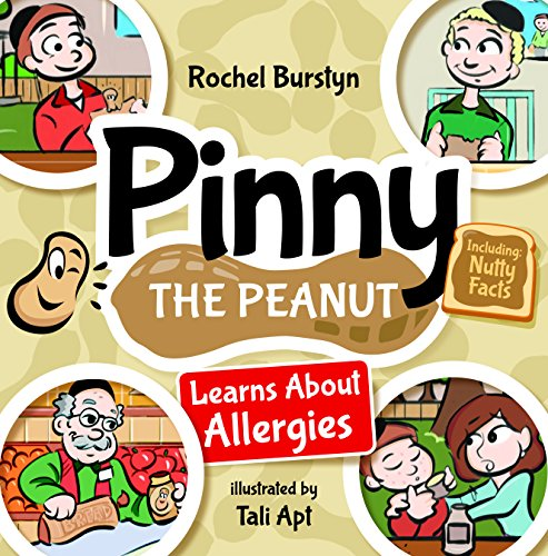 9781598261226: Pinny the Peanut Learns About Allergies