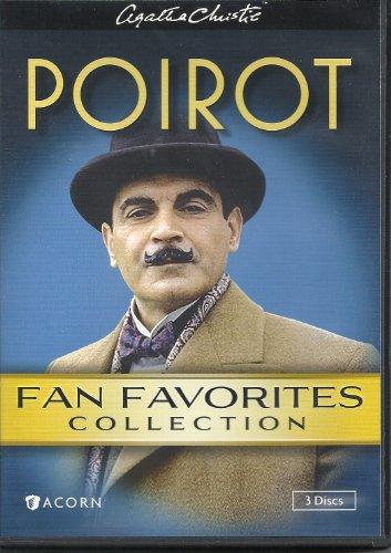 9781598289718: Agatha Christie Poirot Fan Favorites Collection Box Set