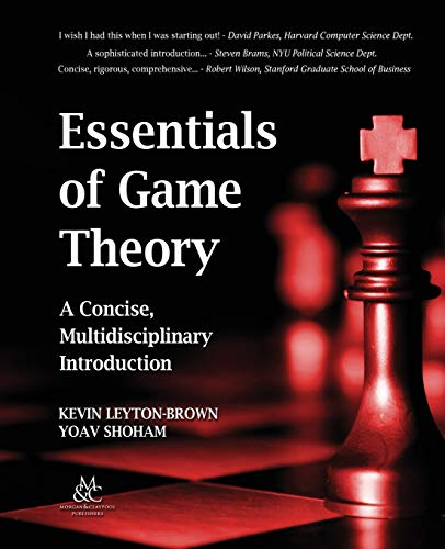 9781598295931: Essentials of Game Theory: A Concise, Multidisciplinary Introduction (Synthesis Lectures on Artificial Intelligence and Machine Learning)