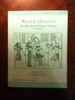 9781598300246: World History - A Collection of Primary Sources