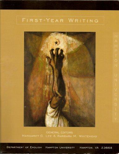 9781598300512: First-Year Writing (Hampton University)