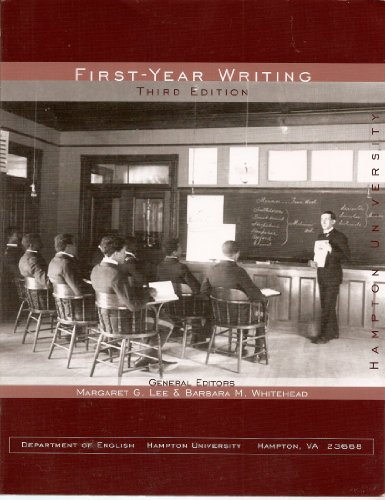 9781598302554: First Year Writing