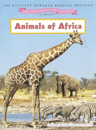 Animals of Africa (More Adventures of the: Anne Miranda; Illustrator-Mernie