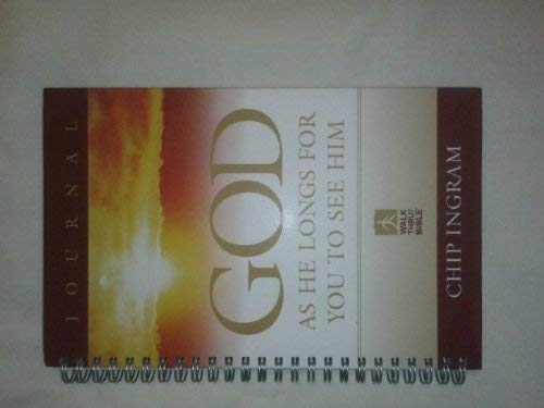9781598341188: God as He Longs for You to See Him - Journal (Walk Thru the Bible)