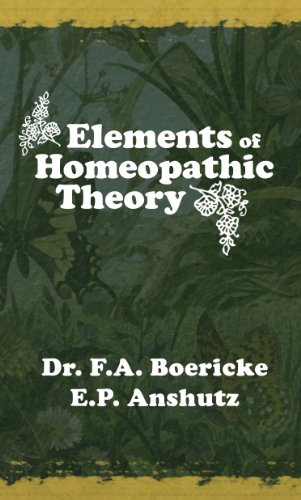 9781598381320: Elements of Homeopathic Theory