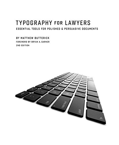 9781598392623: Typography for Lawyers 2nd