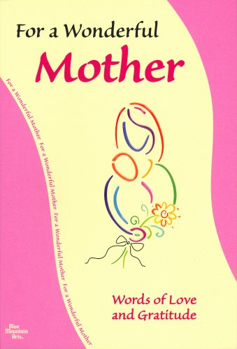 For My Wonderful Mother (Blue Mountain Arts Collection) (1598421948) by A Blue Mountain Arts Collection