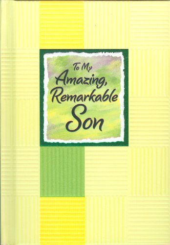 9781598425239: To My Amazing, Remarkable Son (Blue Mountain Arts Collection)