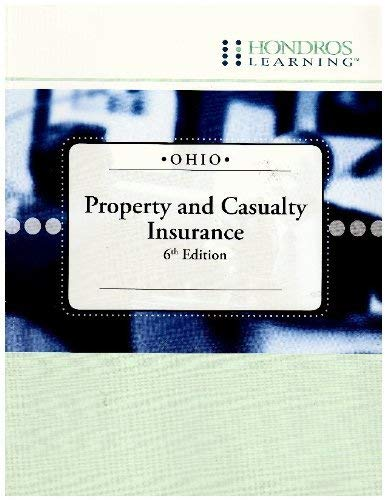9781598440102: Ohio Property and Casualty Insurance