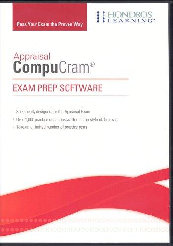 9781598440423: Appraisal Exam CompuCram Exam Prep Software