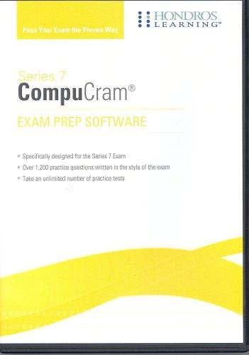 9781598440485: Series 7 Exam: Securities CompuCram Exam Prep Software