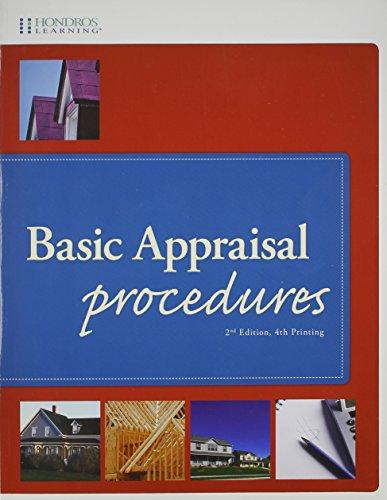 9781598441109: Basic Appraisal Procedures