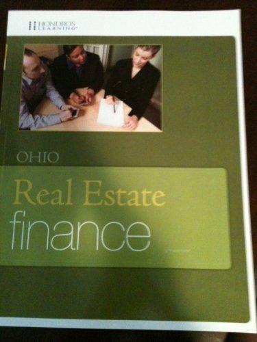 Ohio Real Estate Finance 5th Edition: Hondros