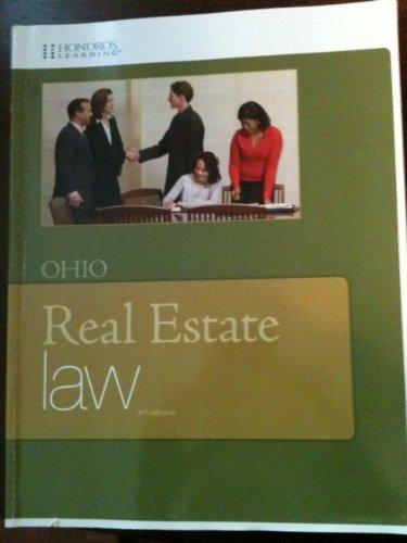 9781598441611: Ohio Real Estate Law 8th Edition