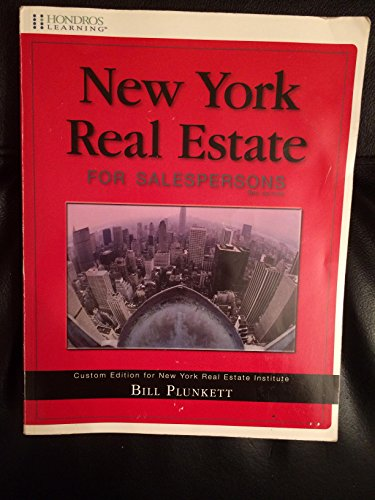 9781598441666: New York Real Estate for Salespersons
