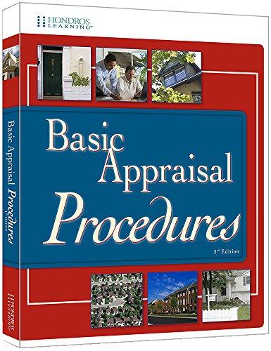 9781598442403: Basic Appraisal Procedures, 3rd edition