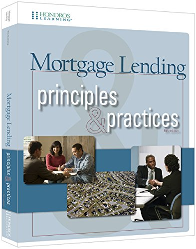 9781598442588: Mortgage Lending Principles and Practices, 6th edition