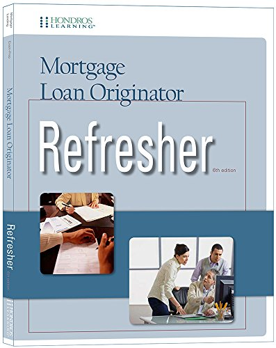 9781598442915: Mortgage Loan Originator Refresher, 6th edition