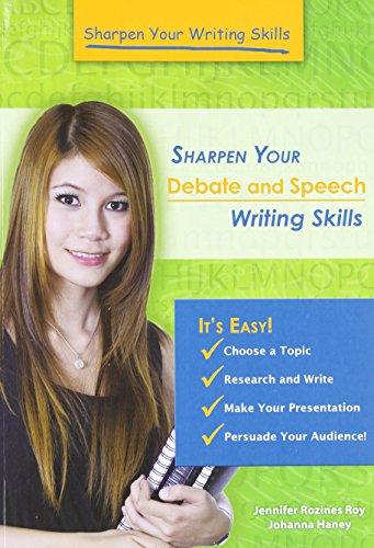 9781598453416: Sharpen Your Debate and Speech Writing Skills (Sharpen Your Writing Skills)