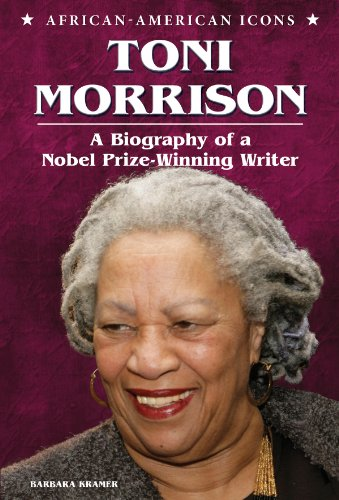 9781598453928: Toni Morrison: A Biography of a Nobel Prize-Winning Writer (African-American Icons)