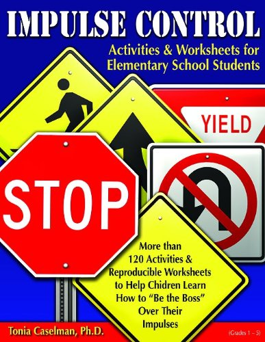 9781598500592: Impulse Control Activities & Worksheets for Elementary Students