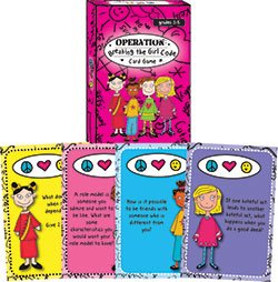 9781598501292: Operation: Breaking the Girl Code Card Game