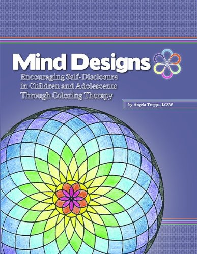 9781598501421: Mind Designs: Encouraging Self-Disclosure in Children and Adolescents Through Coloring Therapy with CD
