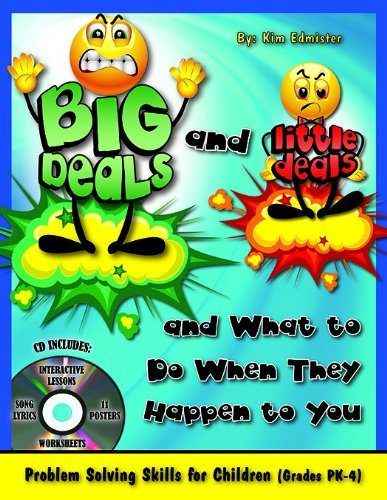 Big Deals and Little Deals and What to Do When They Happen to You with CD 9781598501438 At long last, simple and clear-cut guidelines for helping children differentiate big deals - situations that require adult intervention