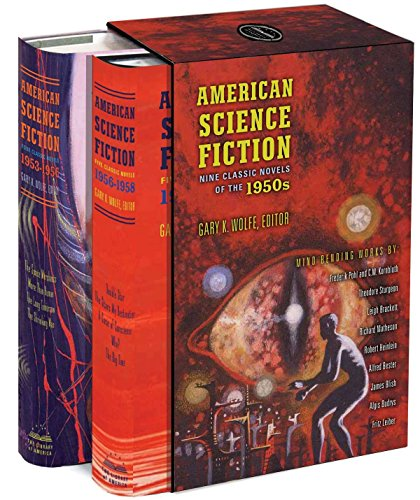 9781598531572: American Science Fiction: Nine Classic Novels of the 1950s: A Library of America Boxed Set