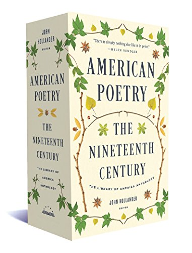 9781598535655: American Poetry: The Nineteenth Century: A Library of America Boxed Set (The Library of America)