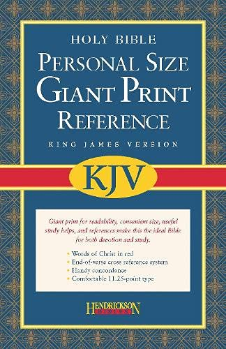 9781598560954: Personal Size Giant Print Reference Bible-KJV