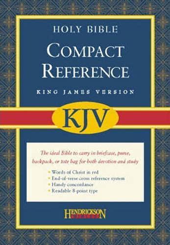 9781598561067: Compact Reference Bible-KJV