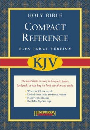 9781598561081: Compact Reference Bible-KJV