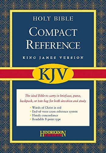 9781598561159: Compact Reference Bible-KJV